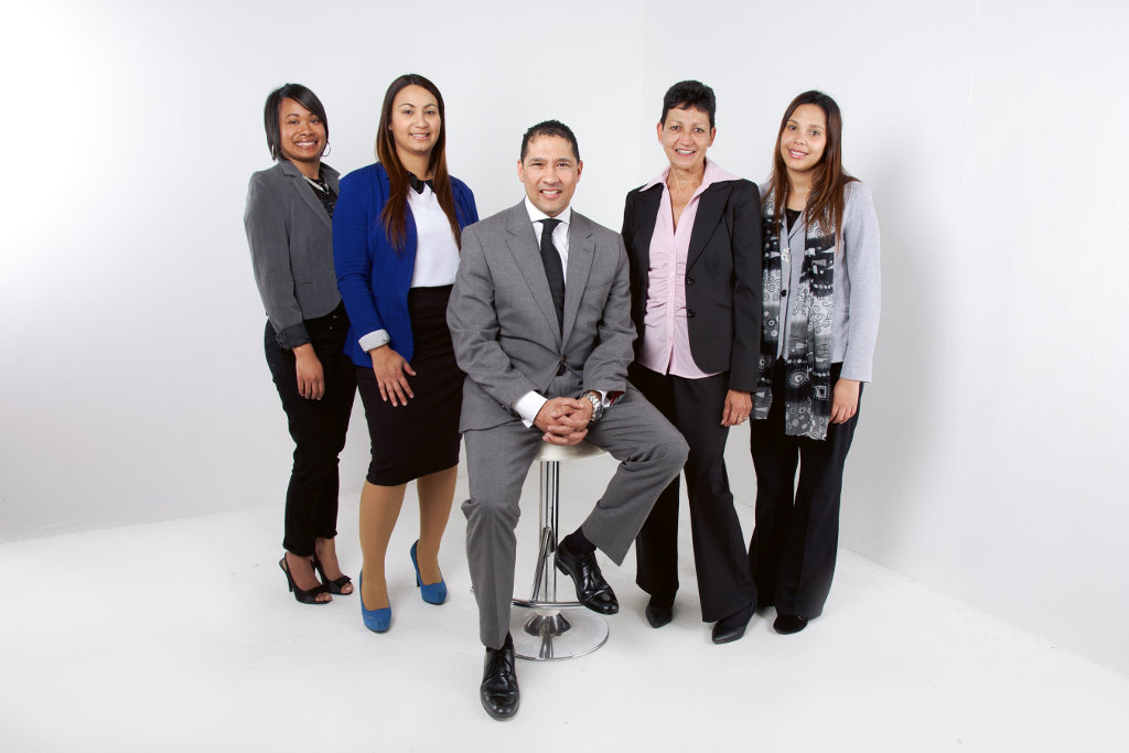 Picture of a group of employees