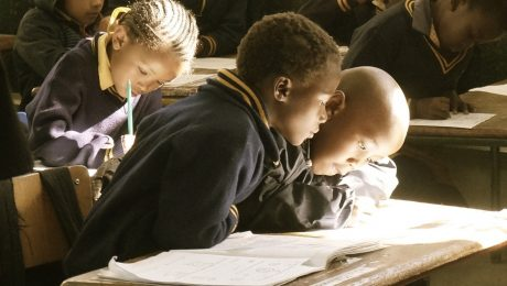 Image of black children in school