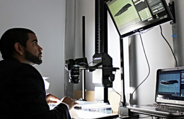Image of a Forensic Scientist Using Forensic Photography