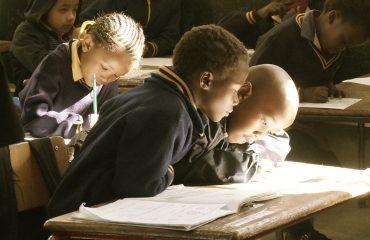 Image of black children in school